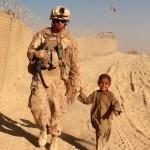 Marine and kid