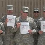 soldiers thanking OTA